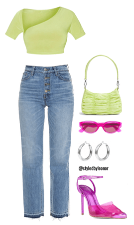 Colorful Extra Neon StreetWear