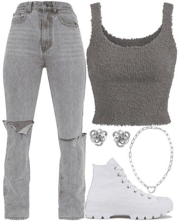 Gray Clothes