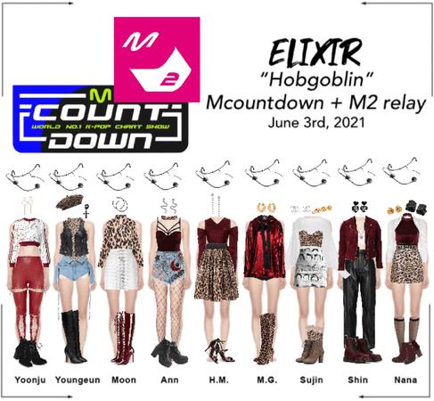 "ELIXIR (엘릭서) ""Hobgoblin"" Mcountdown + M2 Relay Dance"