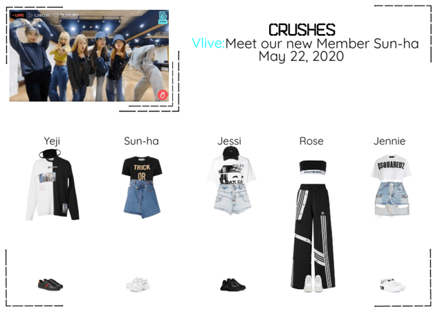 Crushes (호감) Surprise Vlive