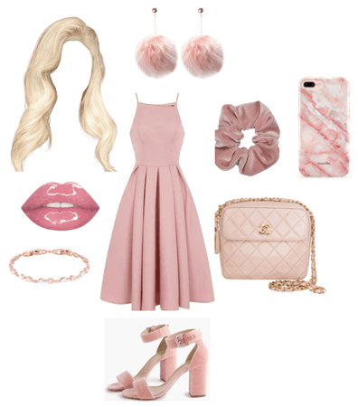 Pink Girly Outfit