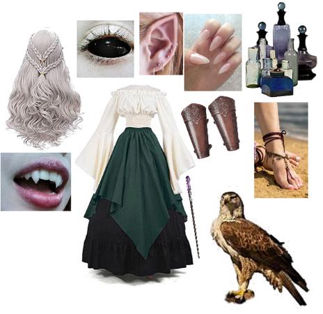 The Elven Witch of Misty Glenn