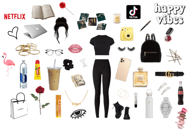 Basic Rich Teen Girl Starter Kit