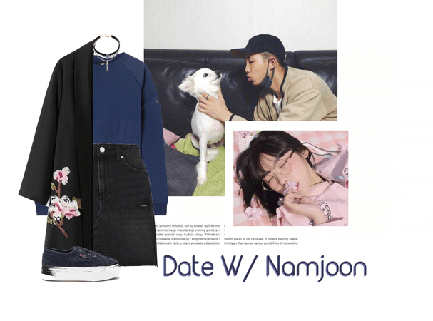 ✧・゚: date with namjoon