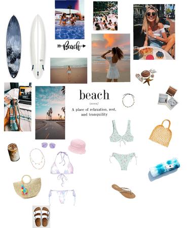 Day on beach