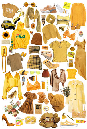 - jaune -