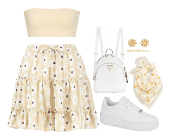 Summer Picnic Soft Casual Look