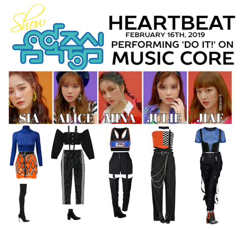 [HEARTBEAT] 'DO IT!' MUSIC CORE STAGE