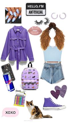 Purple blue cutie₽