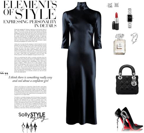 elegant woman 🍸