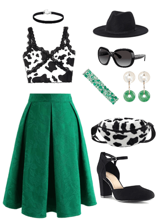 Cow Print Style by MAHSA