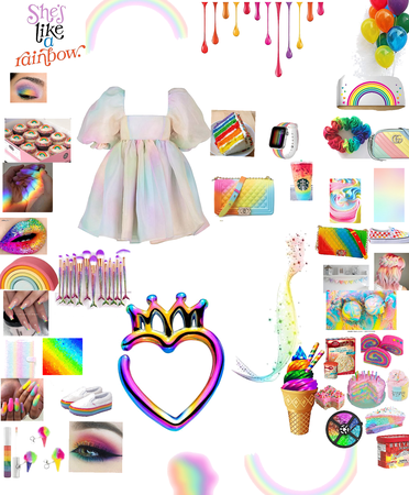 Rainbow 🌈 outfit