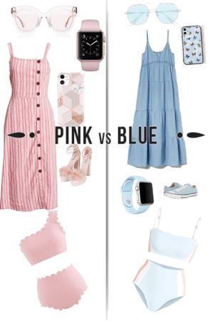 Pink vs Blue