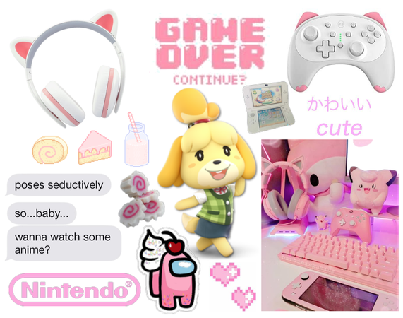 Kawaii Gamer Girl