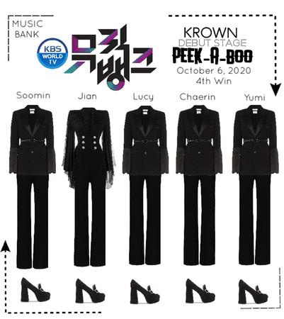 KROWN - Peek-A-Boo [Music Bank / 2020.10.06]