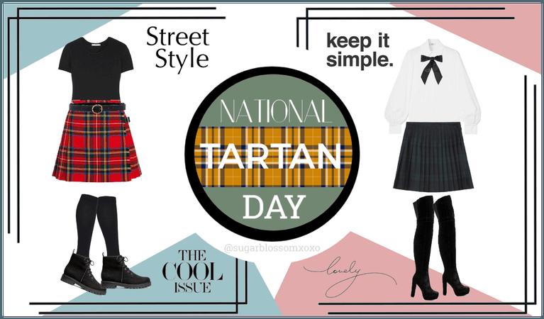 Tartan Skirt Looks