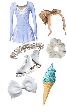 Blue ICE Skating🧊⛸