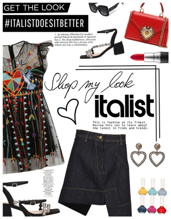 Italist Contest. Shop my look