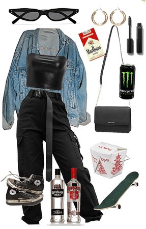 angsty teen- night out