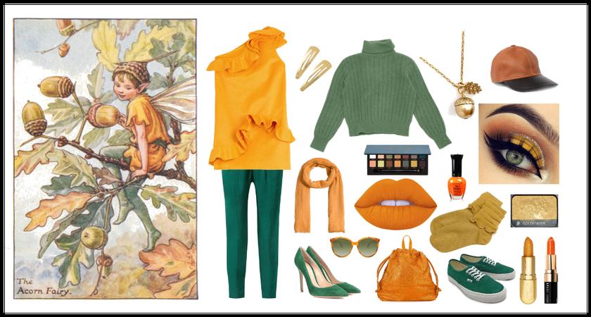 How to wear: The Acorn Fairy