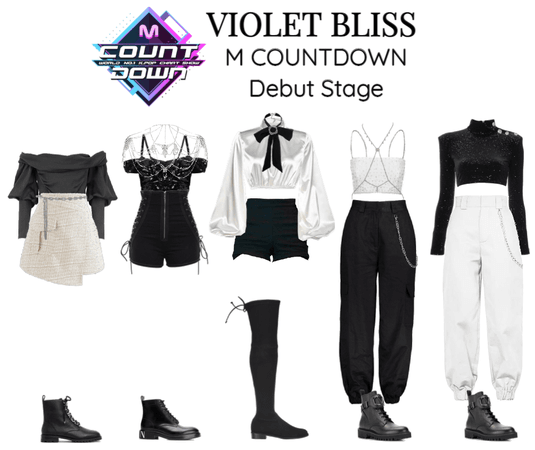 VIOLET BLISS 'M COUNTDOWN Debut Stage'