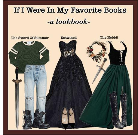 IF I WERE IN MY FAVORITE BOOKS: A Lookbook