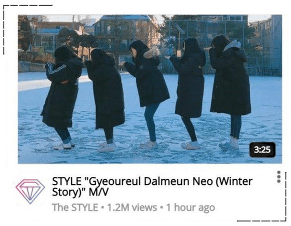 STYLE 'Winter Story' M/V Release