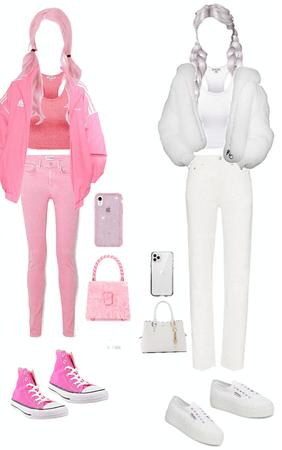 pink vs white