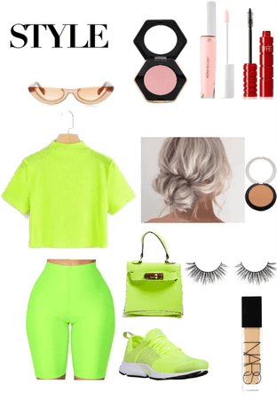 A neon pop