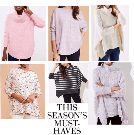 ponchos sweaters