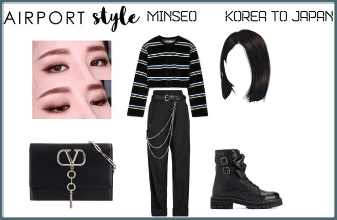 {Valkyrie} Minseo Airport Fashion (Korea to Japan)