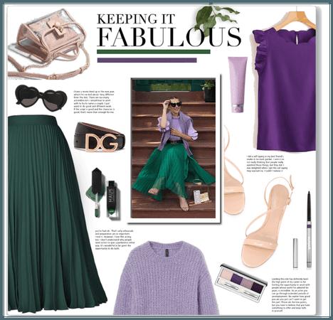 Green & Purple