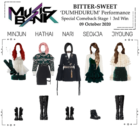 BITTER-SWEET [비터스윗] Music Bank 201009