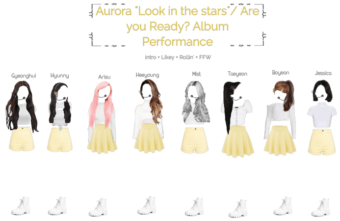 Aurora Look in the stars/ album performance