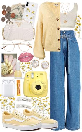 Yellow Wildflower Gemini