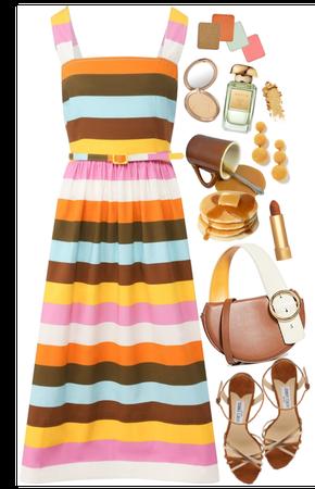 pretty midi dress