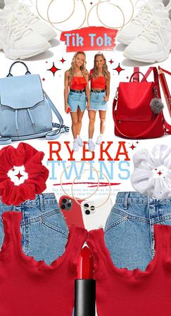 Rybka Twins On Tik Tok
