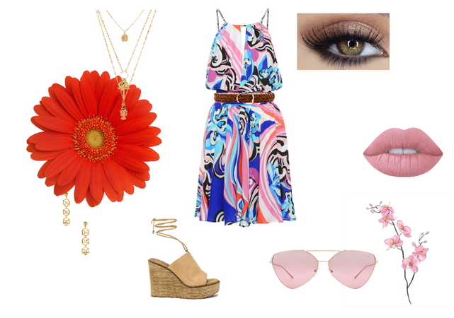 Dressing up a casual sundress