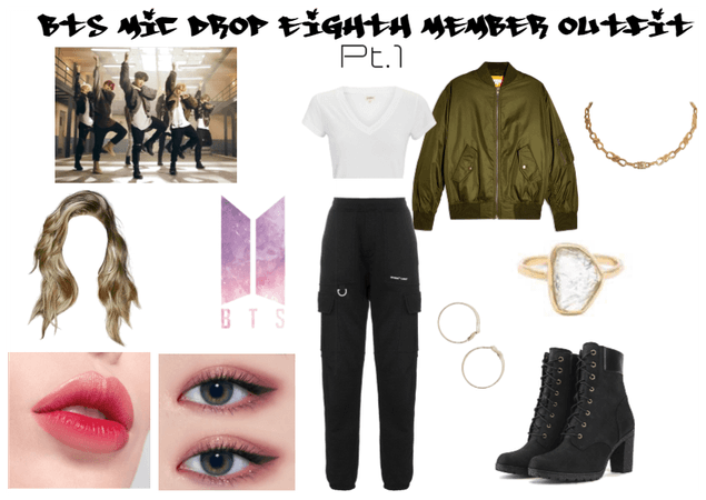 BTS Mic Drop Eighth Member Outfit Pt. 1