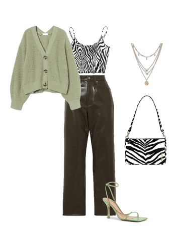 Zebra+green