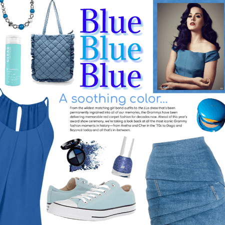 BLUE, BLUE, BLUE, BLUE!