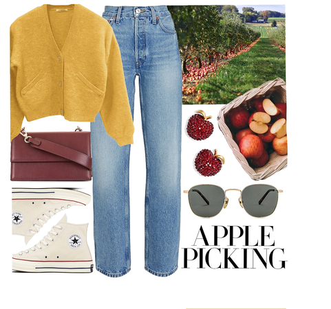 apple picking outfit 🍎