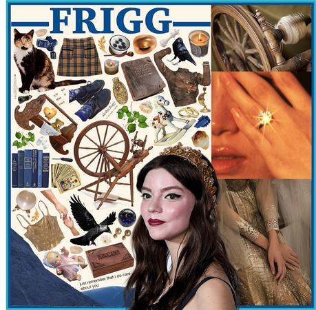 FRIGG (Norse Goddess)