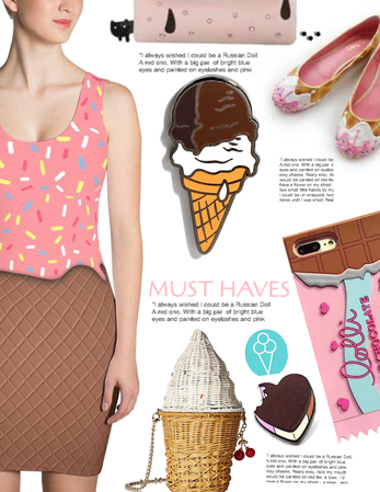 Must haves for this icecream day
