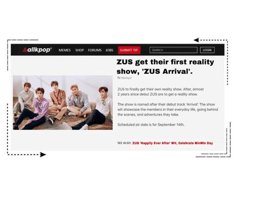 Zus//AllKpop 'ZUS Arrival'