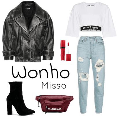 MONSTA X - Wonho [fall/autumn date]