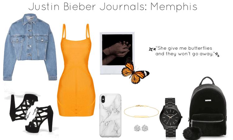 Justin Bieber Journals: Memphis