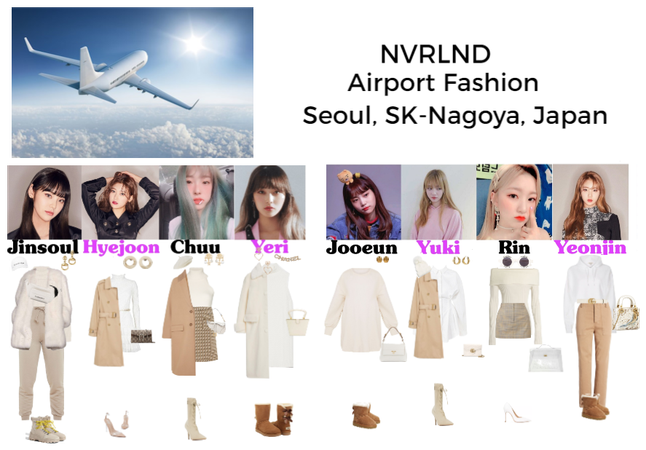 NVRLND Airport fashion (outfits Marionette)
