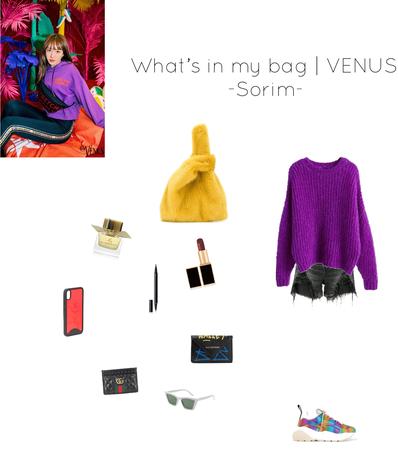 What's in my bag | VENUS -Sorim
