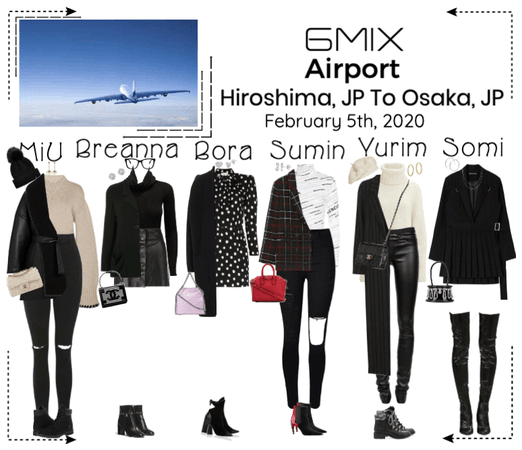 《6mix》Airport | Hiroshima, JP To Osaka, JP